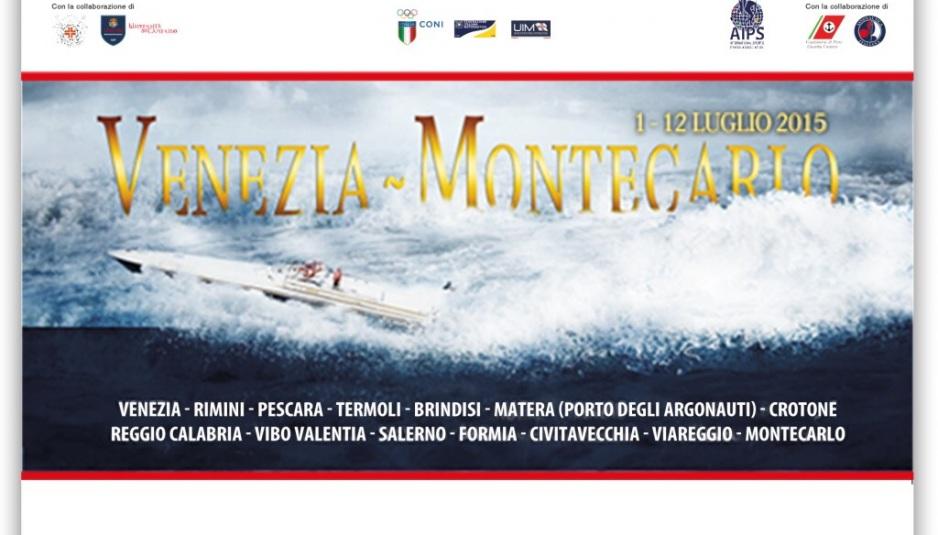 La locandina Venezia-Montecarlo