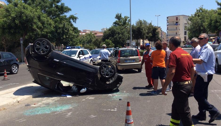 Incidente su via Carpino