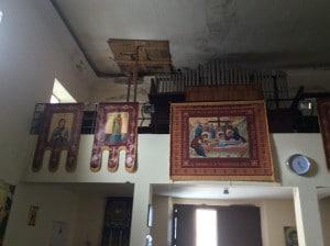 Chiesa ortodossa tetto