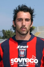Crotone  2005/06 Campionato nazionale serie B nella foto: Scardina Francesco Ag.Aldo liverani