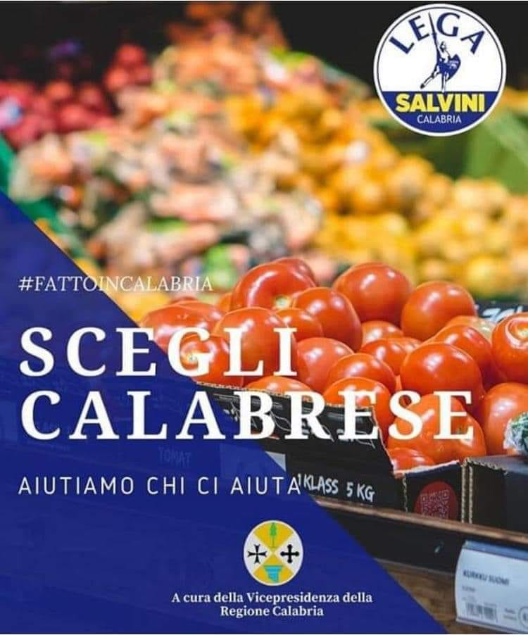 Regione Spirli Promuove Prodotti Calabresi Con Logo Della Lega E Etichette In Finlandese Crotonenews